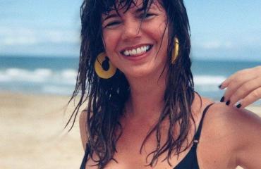 Griselda Siciliani festejó su cumpleaños en ropa interior y sin maquillaje en plena cuarentena