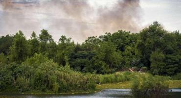 Otra vez las llamas atacan a la Reserva Ecológica de Costanera Sur