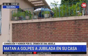 Horror en Saavedra: mataron a golpes a una jubilada y la hallaron maniatada en su casa