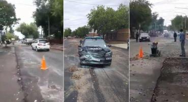 Video: nene de 14 años le robó el auto a su mamá y casi provoca una tragedia