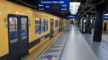 La línea C de subte cerró por obras hasta el 2 de febrero