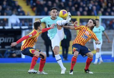 El Inter de Lautaro Martínez no pudo ante Lecce y la Juventus puede alejarse