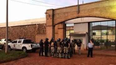 Espectacular fuga en cárcel de Paraguay: escaparon más de 70 presos