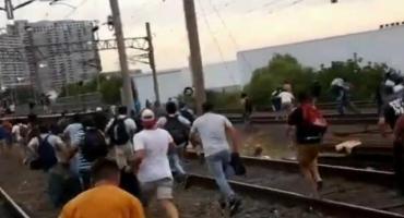 Demoras, cancelaciones e incidentes en la Línea Roca por corte de vías en Avellaneda