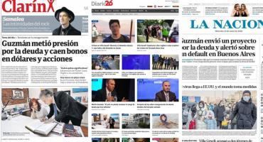 Tapas de diarios argentinos: liberan a detenido por crimen en Gesell y anuncio económico