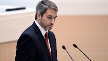 Mario Abdo Benítez, presidente de Paraguay, tiene dengue