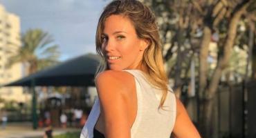 Rocío Guirao Díaz posó con una sensual bikini plateada en Miami