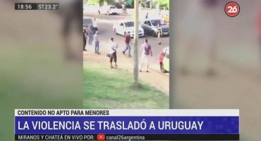Uruguay: batalla campal a la salida de un boliche en Piriápolis