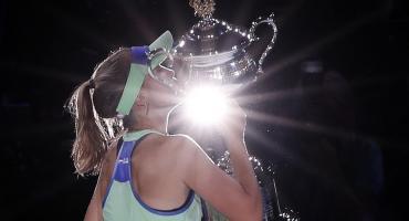 Australian Open:Sofia Kenin, lanueva campeona que sueña con ser Nº1 del mundo