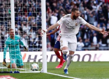Real Madrid venció al Atlético: se quedó con el derbi y se afirma en la punta de La Liga