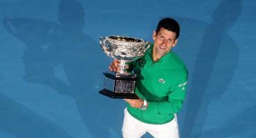 Djokovic histórico: venció a Thiem y es campeón por octava vez del abierto de Australia