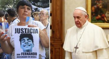 Misa por Fernando en Villa Gesell: la carta que envió el Papa Francisco