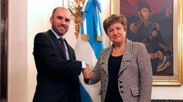 El ministro Martín Guzmán agradeció por Twitter a Kristalina Georgieva el apoyo del FMI