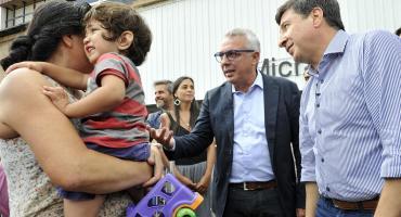 Tigre: Zamora y Arroyo, presentes en la entrega de tarjetas AlimentAR