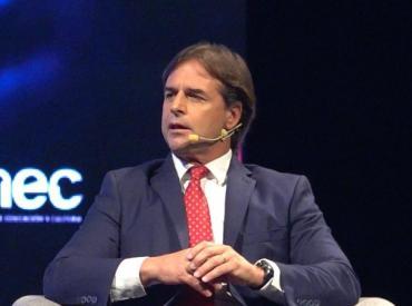 """Lacalle Pou: """"Vamos a ponernos en vía que hablaron Bolsonaro y Macri de flexibilizar el Mercosur"""""""