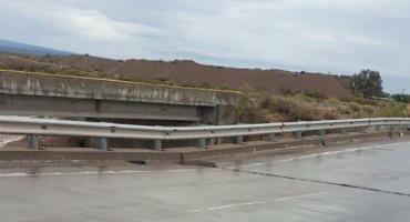 Por puente en peligro de derrumbe, cortaron el paso en la ruta 40 en Mendoza