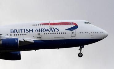 Nuevo récord para avión de British Airways: logró vuelo subsónico más rápido