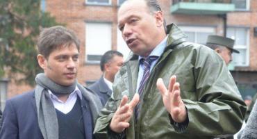 Kicillof apoyó a Berni: