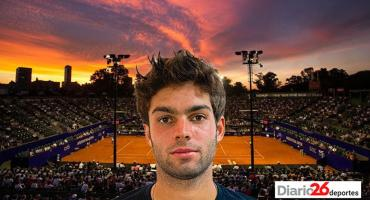 Buenos Aires 2020, seguí en vivo el tenis: Facundo Díaz Acosta VS Cristian Garín
