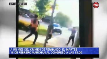 Crimen en Gesell: video muestra a dos de los rugbiers golpear a joven en 2019