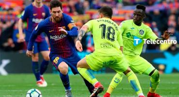 Barcelona vs Getafe, vivílo por Telecentro 4K con la mejor imagen en Alta Definición