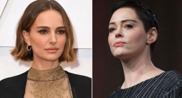 """Rose McGowan lapidaria con Natalie Portman por su capa feminista en los Oscar: """"Tú eres el problema"""""""