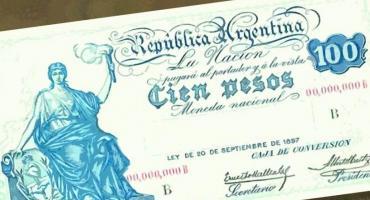 A cien años del poderoso peso argentino, que supo ser el gran orgullo nacional