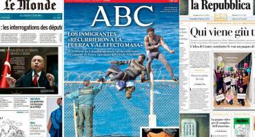 Tapas de diarios internacionales: Coronavirus, inmigración y economía