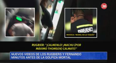 Crimen en Gesell: un acusado grabó video cuando echaban a rugbiers del boliche