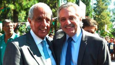 D'Onofrio junto a Alberto Fernández, por obras en Universidad de Hurlingham