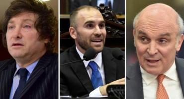 Milei y Espert muy duros con Guzmán por deuda y déficit fiscal por