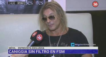 Caniggia en exclusiva: