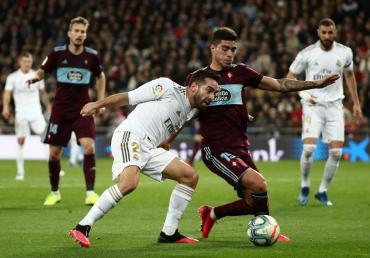 Real Madrid empató en el Bernabéu ante Celta de Vigo por La Liga
