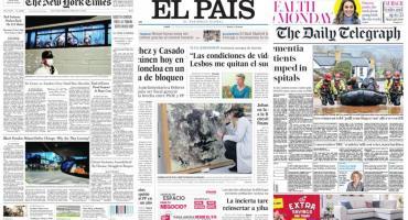 Tapas de diarios del mundo: repercusiones tras declaraciones de Xi Jinping sobre coronavirus