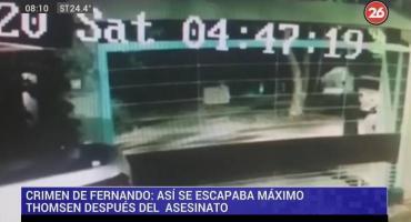 Crimen en Gesell: video muestra cómo escapaban los rugbiers tras matar a Fernando