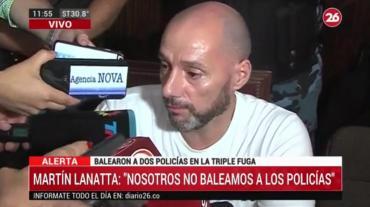 Martín Lanatta tras la condena: