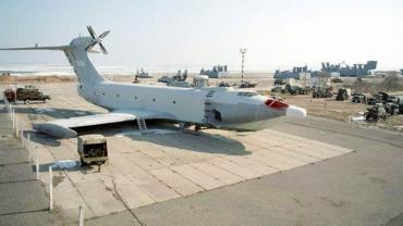 """La impresionante fusión entre barco y avión, conocé los """"Monstruos del Mar Caspio"""""""