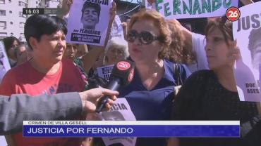 Un mes sin Fernando Báez Sosa: