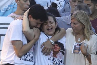 Papá de Fernando agradeció masivo pedido de justicia: