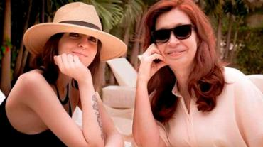 Florencia Kirchner pidió por aborto legal y saludó a Cristina en su cumpleaños: