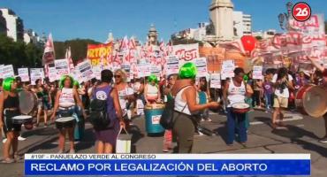 #19F por legalización del aborto: