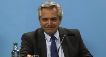 Alberto Fernández celebró el mensaje del FMI: