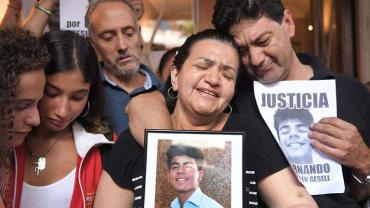 Padre de Fernando, al ver videos del crimen: