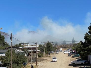 Video: dos incendios forestales se desataron en el sur de Bariloche