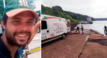 Tragedia en Cataratas: murió mochilero que resbaló y cayó a uno de los saltos