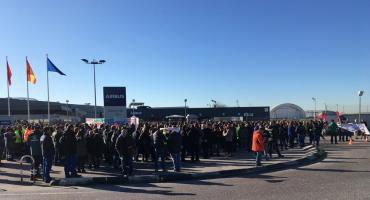 Airbus: por anuncio de 600 despidos, miles de trabajadores protestaron en plantas españolas