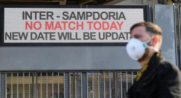 Coronavirus paraliza norte de Italia: cierran escuelas, cines, teatros y cancelan partidos