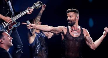 Ricky Martin abrió Festival de Viña con fuerte mensaje social por protestas en Chile
