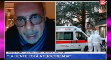 Argentino en Italia, por epidemia de Coronavirus: