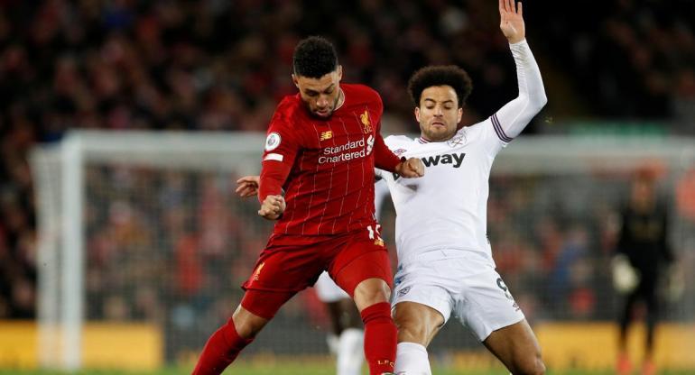 Liverpool venció a West Ham y se afirma en la punta de la Premier League